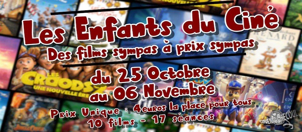 actualité Les Enfants du Ciné